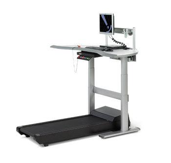 walkstation desk treadmill system