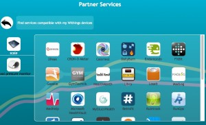 Withings partner services