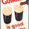 Guinness is good for you - period advertising
