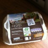 Packed of 6 large organic Irish eggs from Superquinn