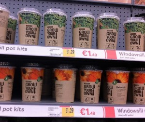 Grow your own kits from Homebase