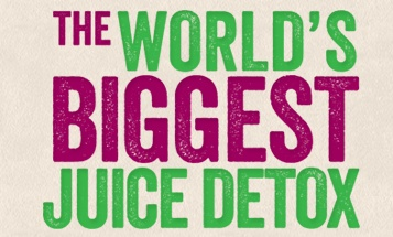 Juice detox january 2013 organised by Jason Vale