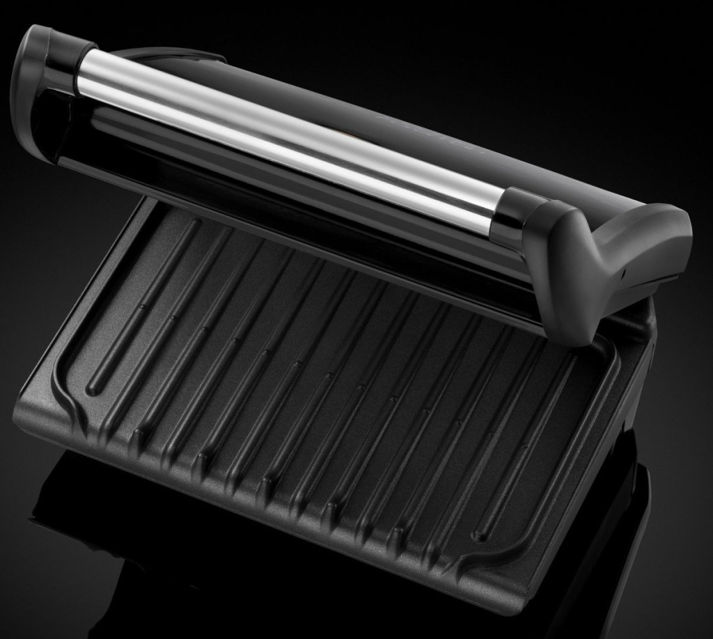 George Foreman Heritage 18293 Family Grill, 5-Portion, Black