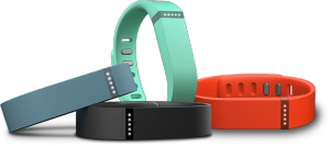 Fitbit Flex is available in a variety of colours