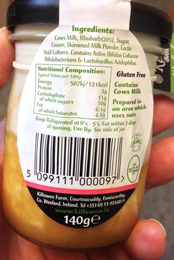 killowen-premium-rhubarb-yoghurt-ingredients-nutritional-information