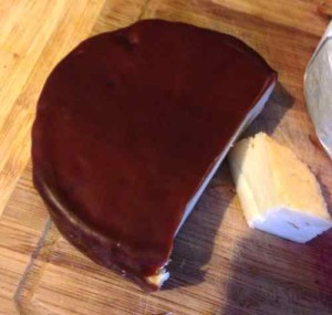 Carrigaline Farmhouse cheese - smoked in waxed round