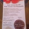 Fresh Ravioli with Tomato & Mozzarella