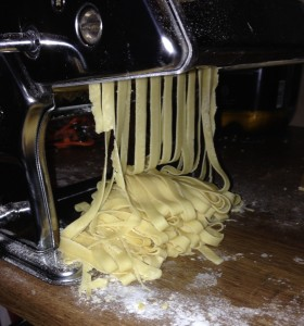 tagliatelle-coming-out-of-machine