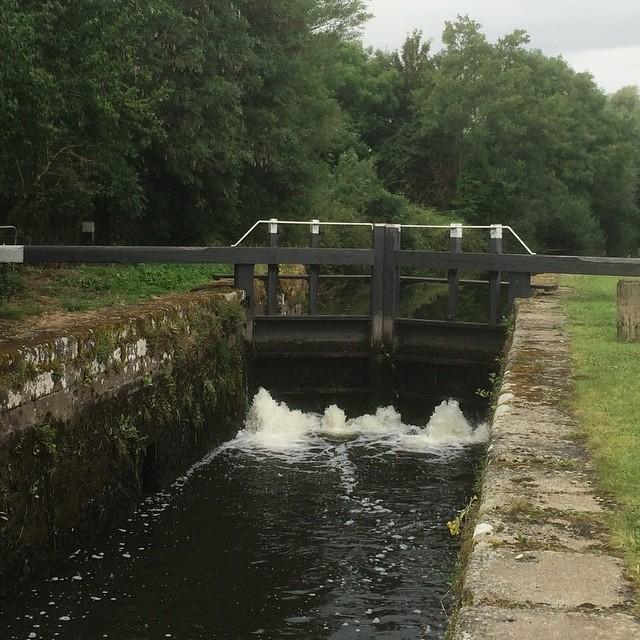 lock on the Barrow near Carlow town