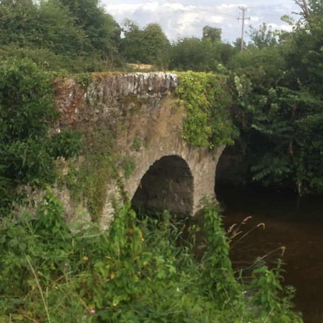 bridge over one of the Barrow's smaller tributaries near Carlow town