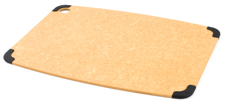 non-slip wood fibre chopping board