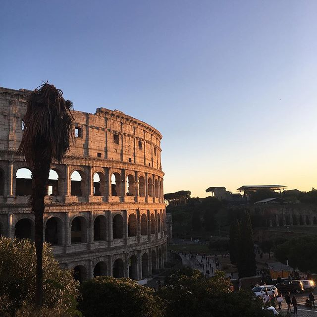 The Colloseum in the heart of Rome