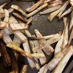 Low Carb Parsnip Fries