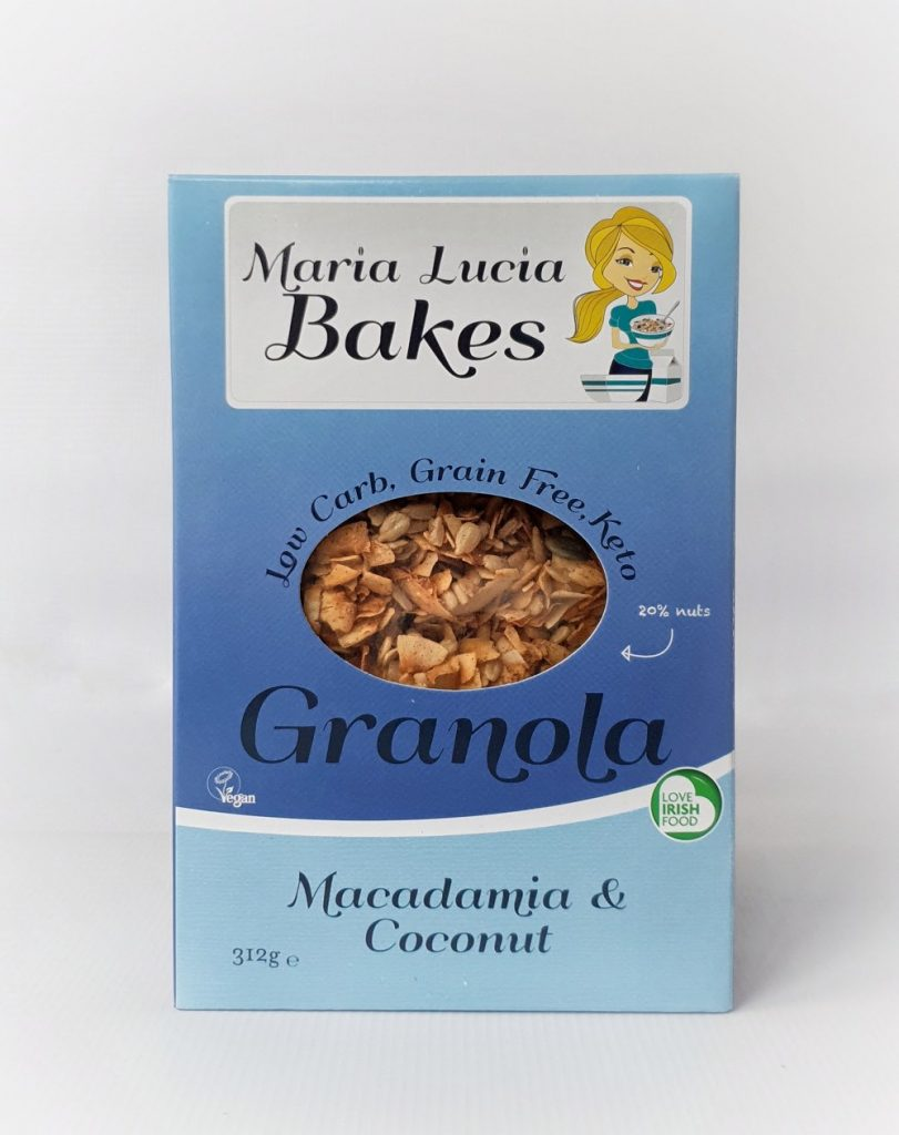 Maria Lucia Bakes low carb granola macadamia and coconut